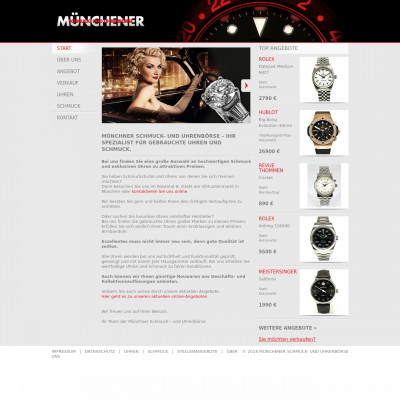 Münchener Schmuck und Uhrenbörse Uhren