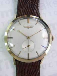 Longinesvintage 14KYG small second