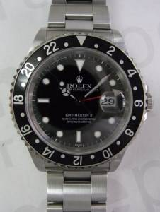 RolexGMT MasterⅡ with Red & Black Bezel