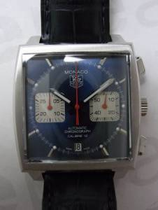 Tag HeuerMonaco Steave McQueen Automatic Blue