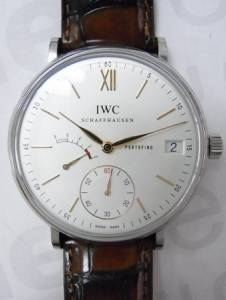 IWCPortofino 8 Days Power Reserve Back Skelton